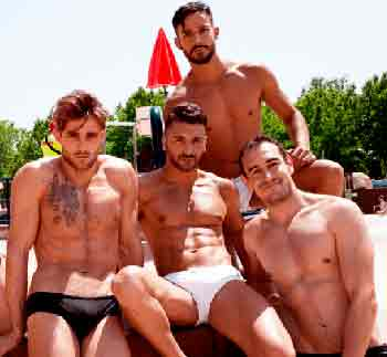Chicos heterosexuales gay oso gay